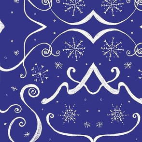 Art_Deco_White_snowflake