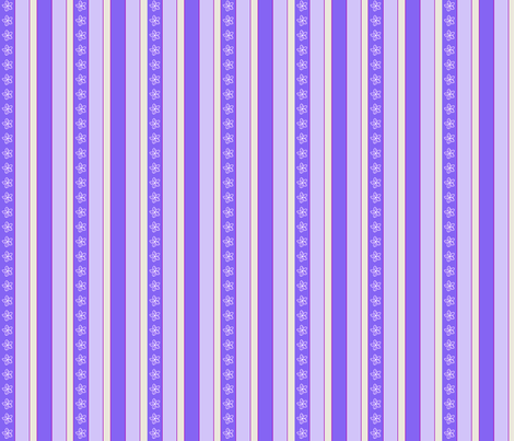 Periwinkle Stripe fabric by koalalady on Spoonflower - custom fabric