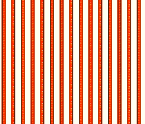 Poppy Stripe fabric by koalalady on Spoonflower - custom fabric