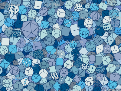 Dice Galore - Ice