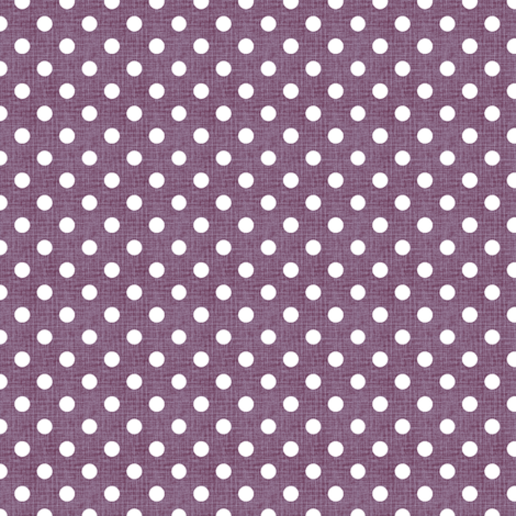 Vintage Violet Polka Dots fabric by kristopherk on Spoonflower - custom fabric