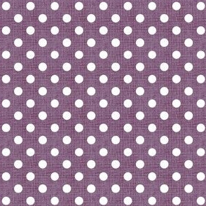 Vintage Violet Polka Dots