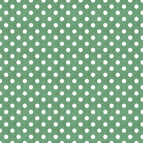 Vintage Jade Polka Dots fabric by kristopherk on Spoonflower - custom fabric