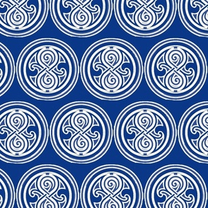 WhiteOnBlueSealOfRassilonRepeating