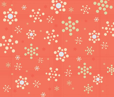 snowflakes-01 fabric by azaliamusa on Spoonflower - custom fabric