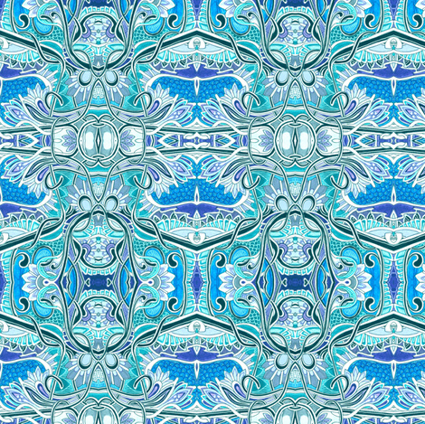 Tied Up With A Bow fabric by edsel2084 on Spoonflower - custom fabric