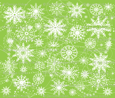 Little Flaeky Christmas (GREEN)