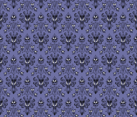 Mansion Wallpaper Creature fabric by loosetoon on Spoonflower - custom fabric