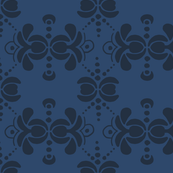 Matisse Wallpaper - Navy