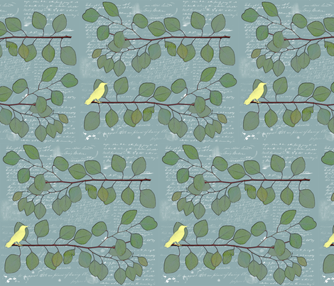You Calyptus You fabric by novelatelier on Spoonflower - custom fabric