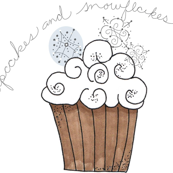 Cupcakes and Snowflakes