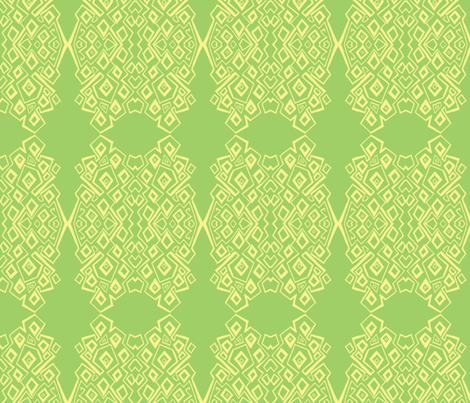 zip-lemon lime-2b fabric by kcs on Spoonflower - custom fabric