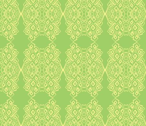 zip-lemon lime-2b fabric by kcs on Spoonflower - custom fabric