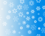 antler snowflakes_sky blue