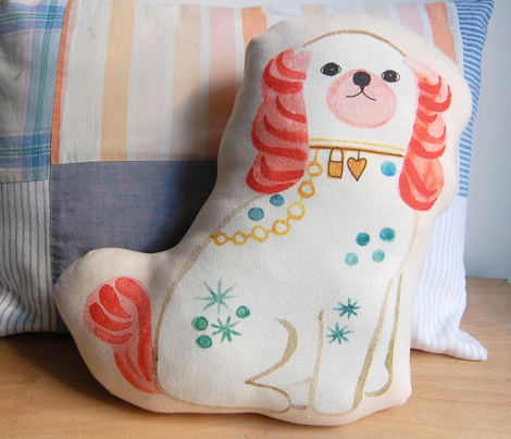 Spaniel Doll Fabric
