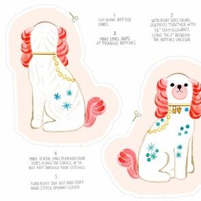 Spaniel Doll Fabric