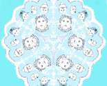 Princess and her Court In A Snowflake - zoom-zoom