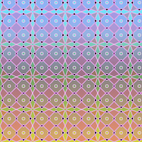 rangoli mesh 2 fabric by y-knot_designs on Spoonflower - custom fabric