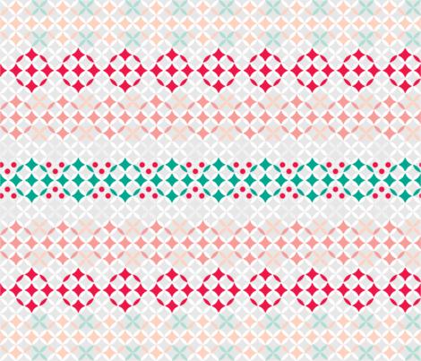 Flake Nog fabric by spoonnan on Spoonflower - custom fabric