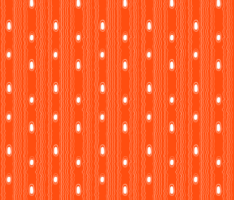 Modern Woodgrain Orange fabric by emilyannstudio on Spoonflower - custom fabric
