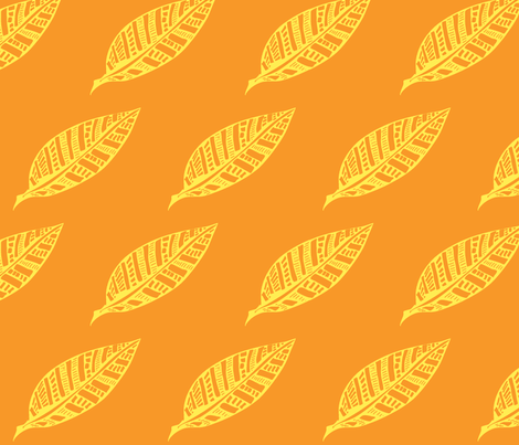 Leaf_Geometry-fall fabric by kcs on Spoonflower - custom fabric