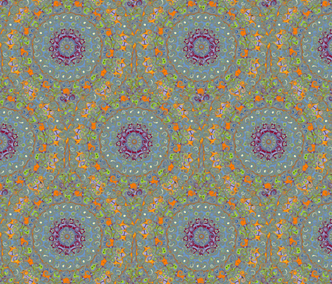 M014_Psychedelia_3_Large_Curl fabric by troublemarkone on Spoonflower - custom fabric