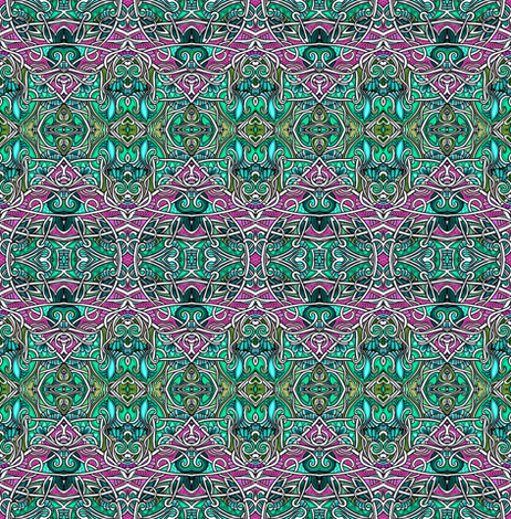 Hang One More Ornament on the Tree fabric by edsel2084 on Spoonflower - custom fabric