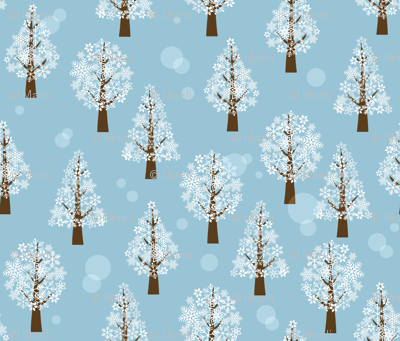 snowflake_forest