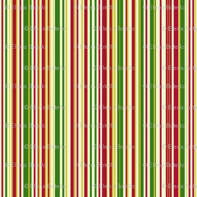 Red Green & Gold Christmas