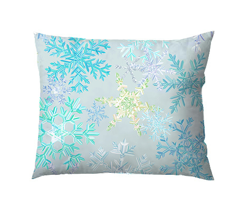 snowflakes - icy colorway