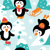 Let is snow in pinguin-land