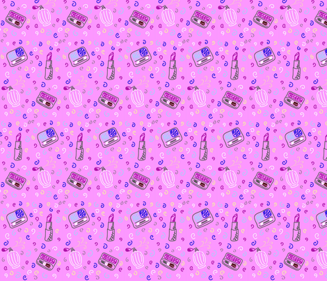 Makeup fabric by gakranz on Spoonflower - custom fabric