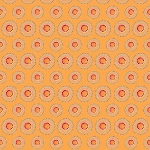 Fiesta Polkadots, Tangerine | alexcolombo.com
