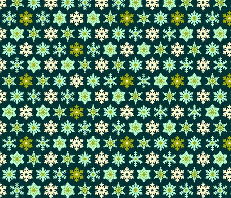 Wintergreen Wonderland fabric by nadiahassan on Spoonflower - custom fabric