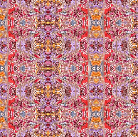 Waiting For the Bellydancers to Start fabric by edsel2084 on Spoonflower - custom fabric