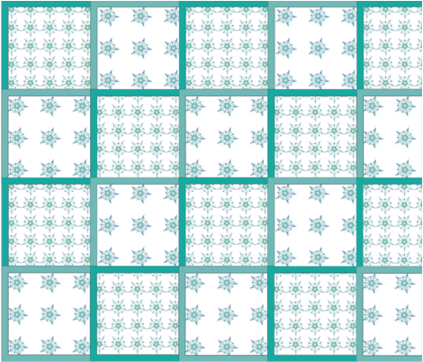 Snowflakes fabric by oprog on Spoonflower - custom fabric