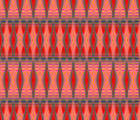 Reverberations 1 fabric by fireflower on Spoonflower - custom fabric