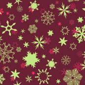 Scarlet Snowflakes