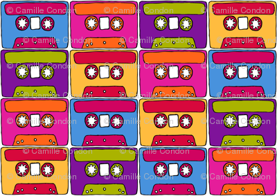 CurlyPops - Technicolour Cassettes