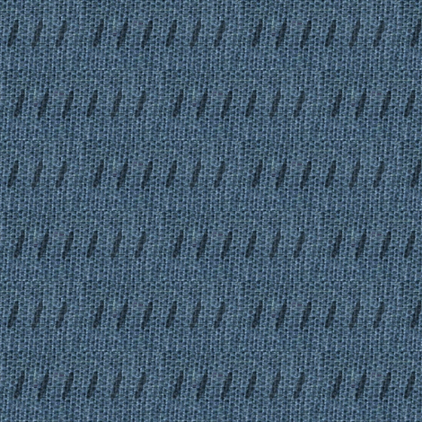 Blue burlap -  deep slate blue and black-ed-ed fabric by materialsgirl on Spoonflower - custom fabric