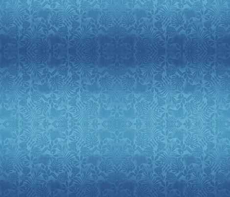 Blue Tropic fabric by flyingfish on Spoonflower - custom fabric