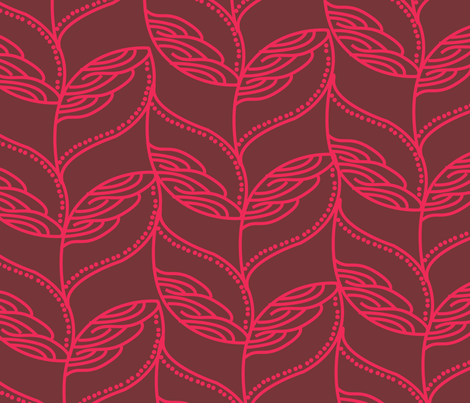 leave-01 fabric by azaliamusa on Spoonflower - custom fabric