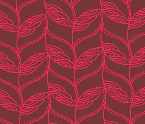 leave-01 fabric by azaliamusa on Spoonflower - custom fabric