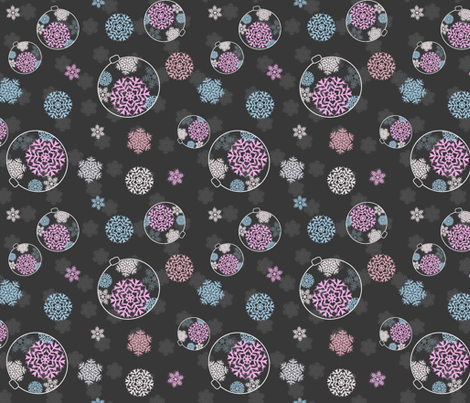 An Ornate Snowflake fabric by designedtoat on Spoonflower - custom fabric