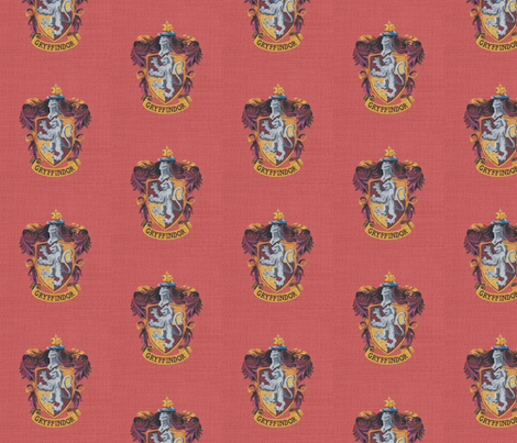 Gryffindor fabric by buttonmushroom on Spoonflower - custom fabric