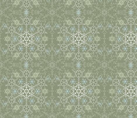 Into Winter fabric by penina on Spoonflower - custom fabric