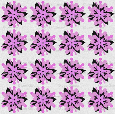 Black_and_Pink_flower