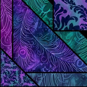 fabricfantasy's letterquilt