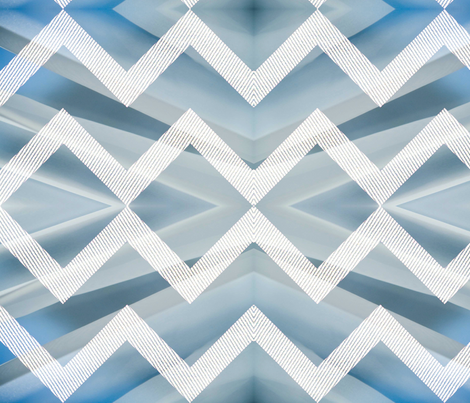 winter chevron fabric by nascustomwallcoverings on Spoonflower - custom fabric