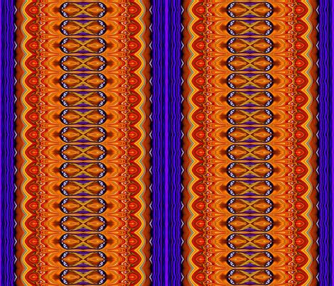 Jeweled_Medallions_Ba_stripe fabric by needlesongs on Spoonflower - custom fabric